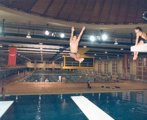 Piscinas for Gimnasio piscina madrid